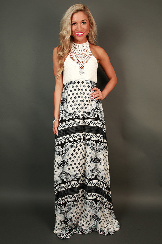Boho in Barbados Maxi Dress