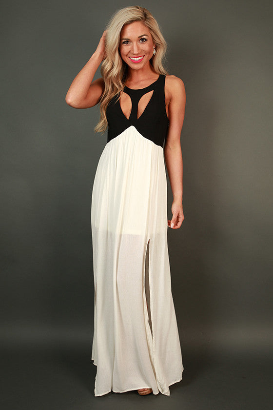 Deluxe Date Night Maxi Dress