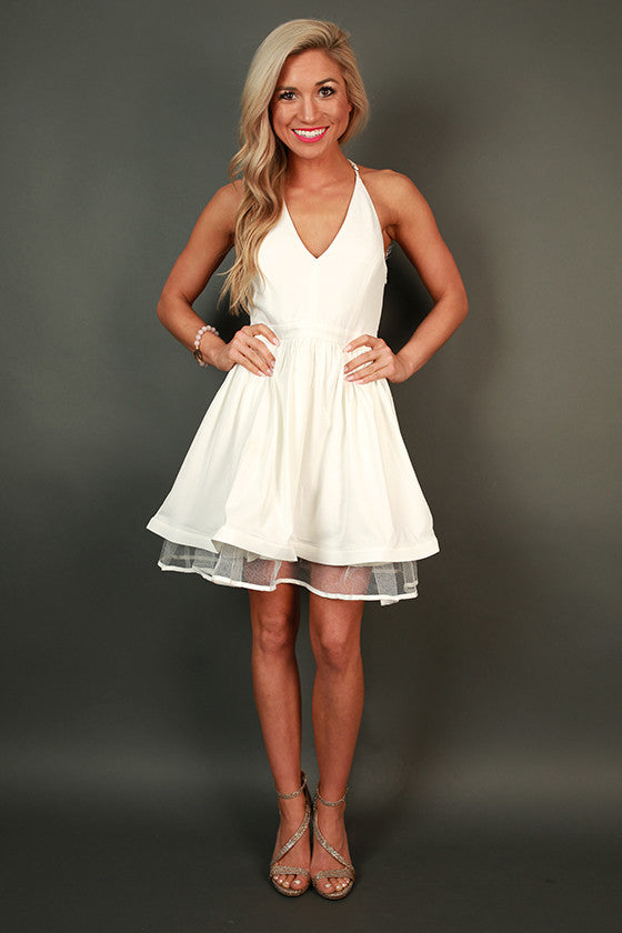 Twist and Shout Fit & Flare Dress