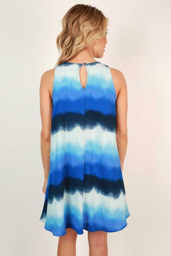 Let The Good Times Roll Tie Dye Dress