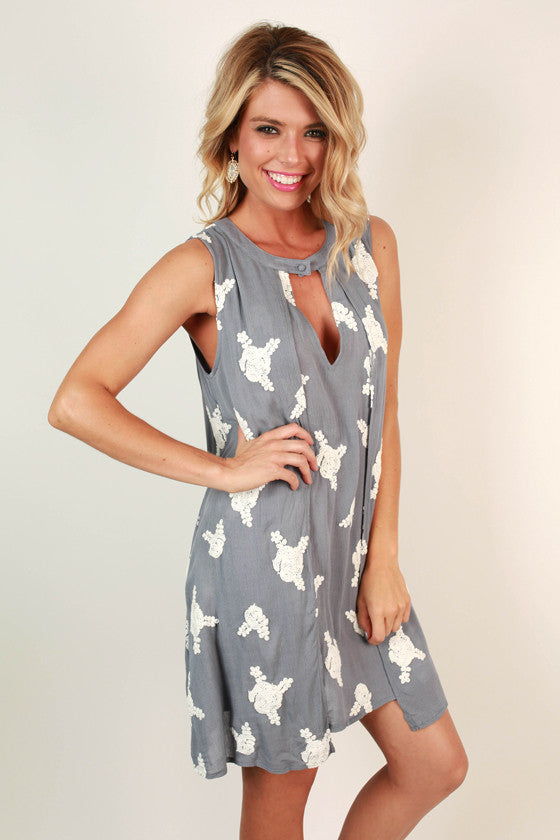Brunchin' Babe Shift Dress