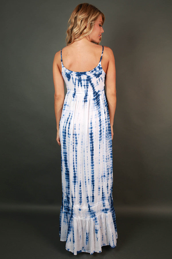 Hawaiian Adventure Tie Dye Maxi