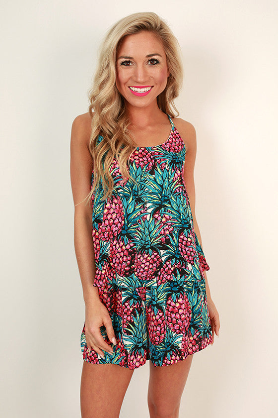 Sweet Pineapple Romper