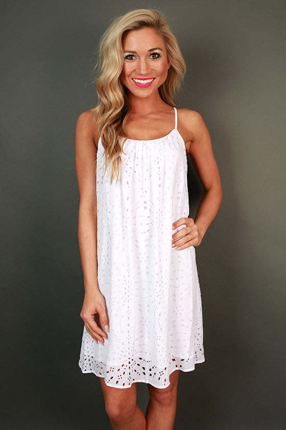 Coconut Tank Dress