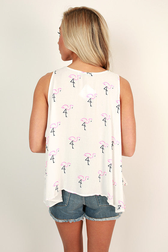 Flamingo Swing Tank