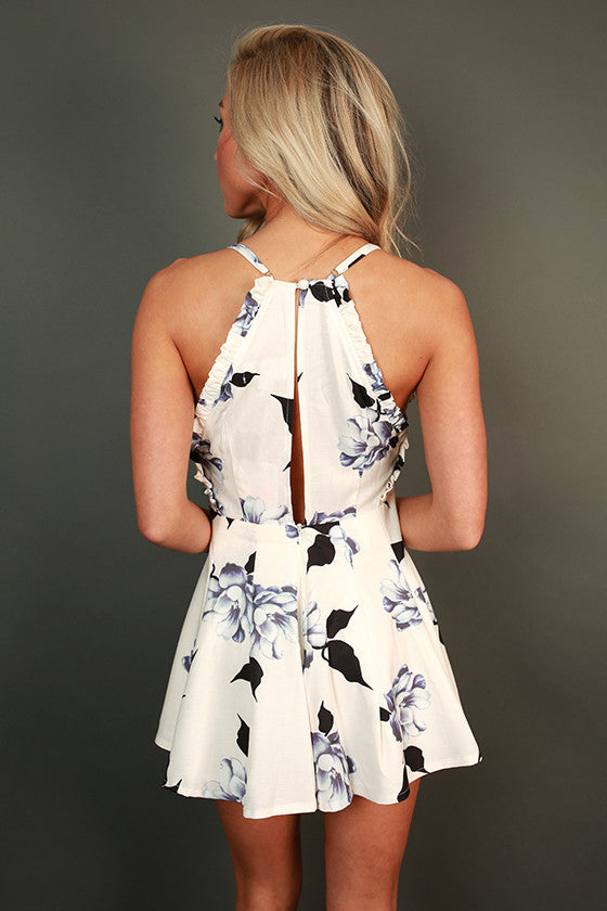 Hello Lovely Floral Romper