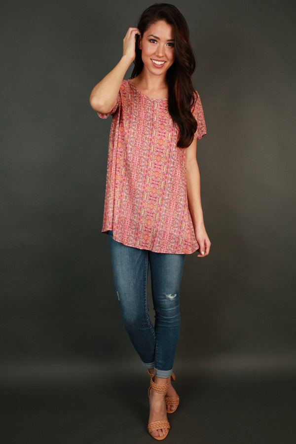 Confetti Cutie Shift Top