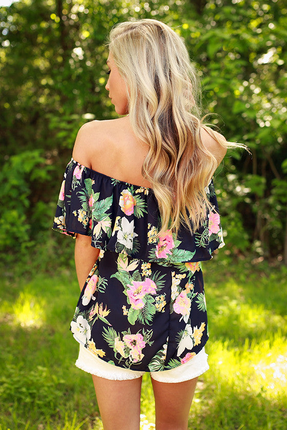 Aloha Beauty Floral Top