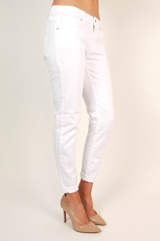 The Perfect Skinny Jean in White