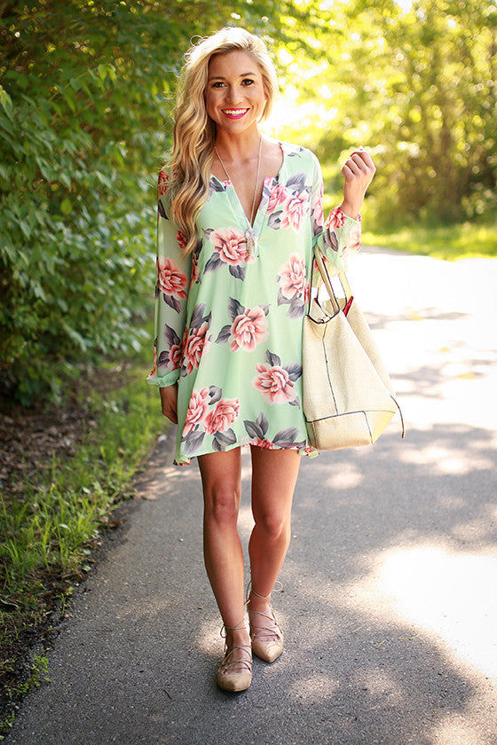 Stop & Smell The Roses Tunic