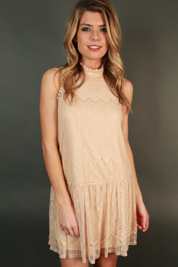 Brunch & Chit Chat Lace Dress