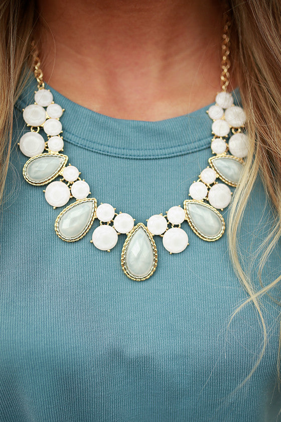 Sparkle All Day Stone Necklace