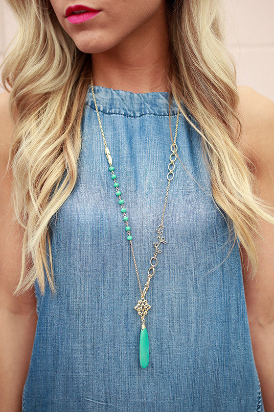 Sweet like Sugar Stone Necklace