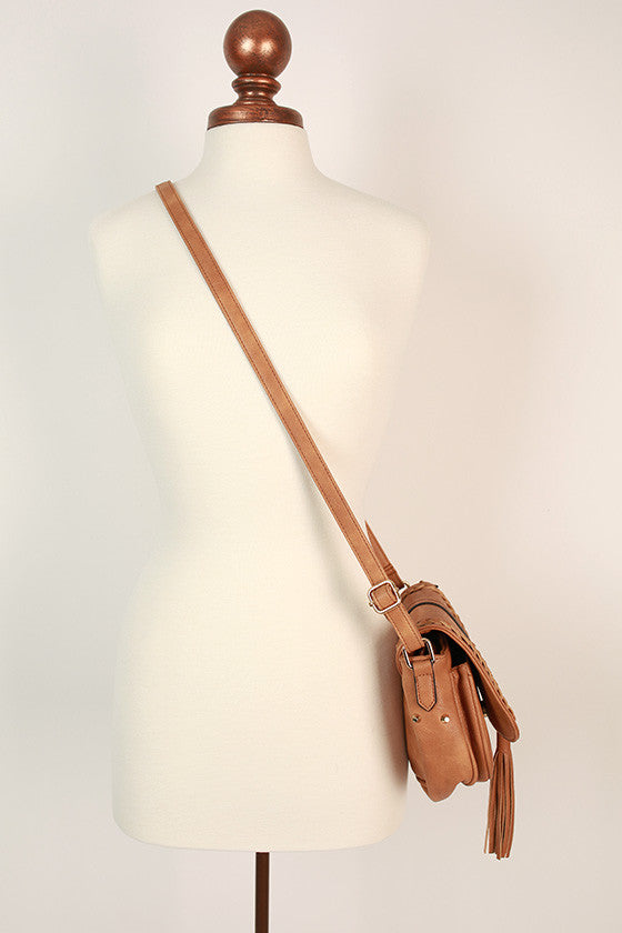 Roadtrip Crossbody Bag in Camel