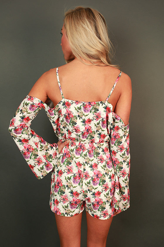 Refreshing in Floral Romper