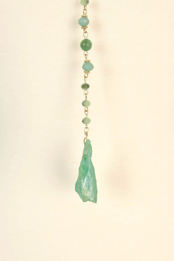 Mint To Be Quartz Necklace