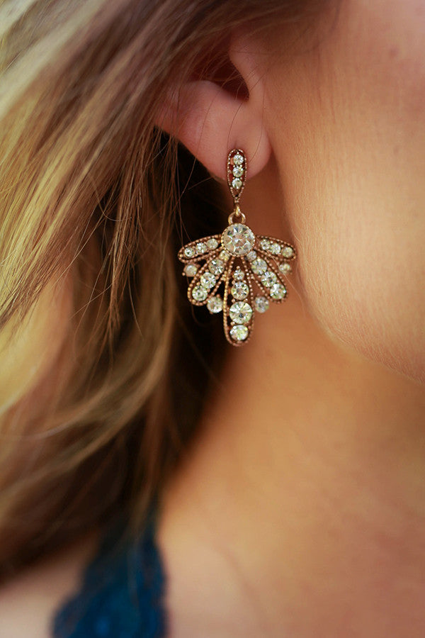 Rogue Sparkles Crystal Earrings