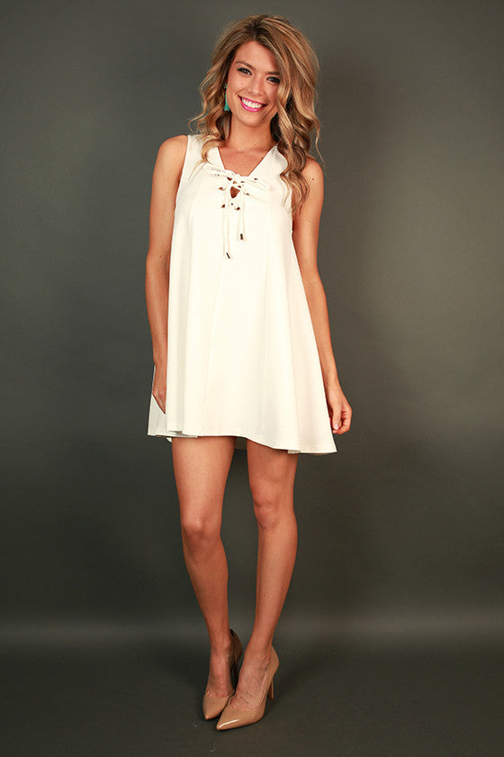 Mykonos Getaway Shift Dress