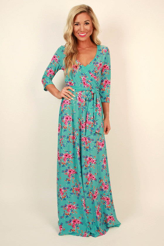 The Fields Of Pretty Maxi in Turks Floral