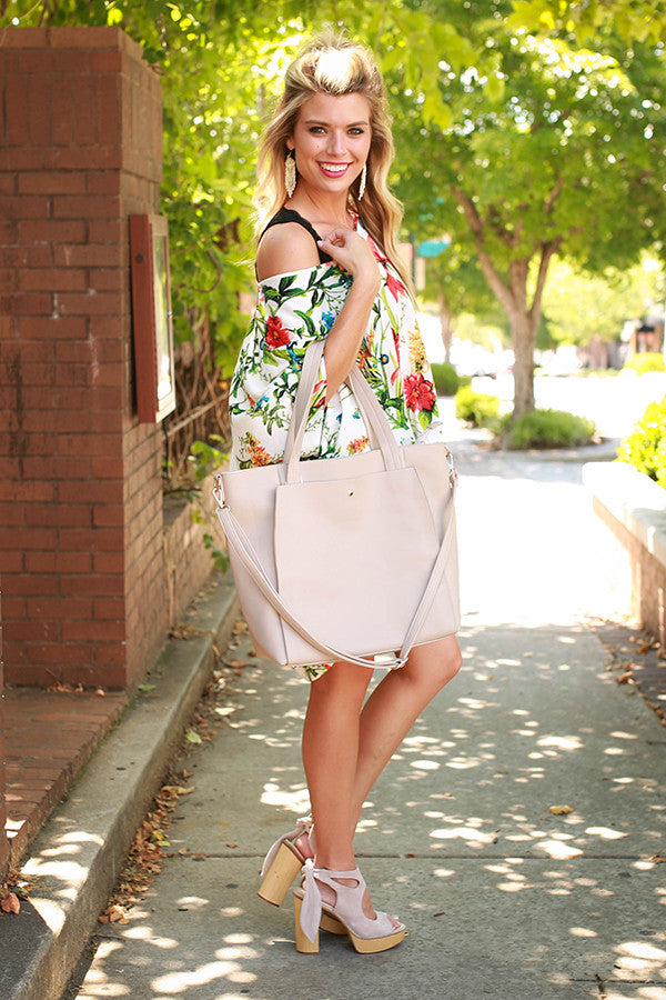 The Harper Tunic in Panama Floral