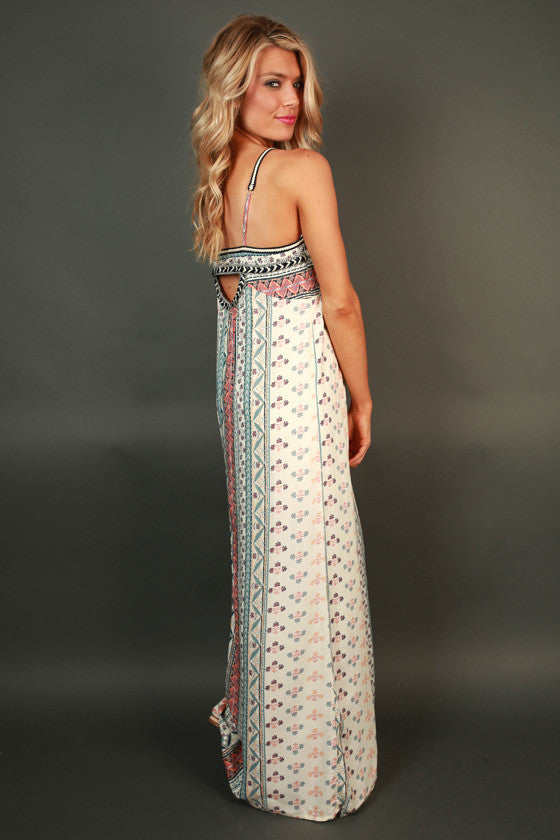 Pristine in Prints Maxi Dress