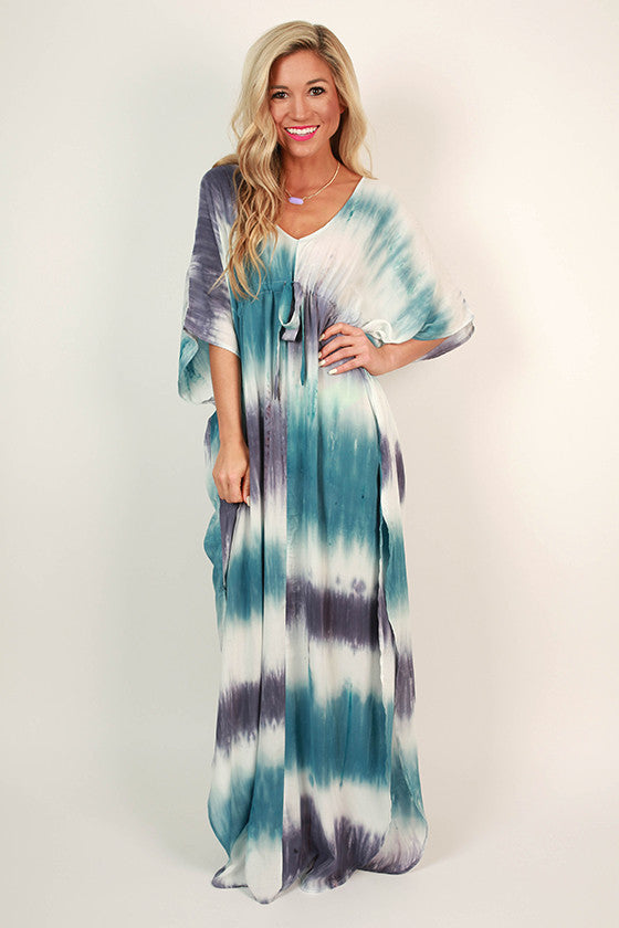 To Tie Dye For Maxi Dress