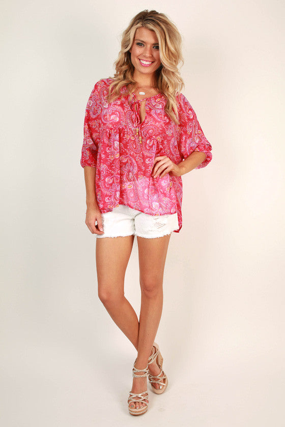 Florence Flow Babydoll Top