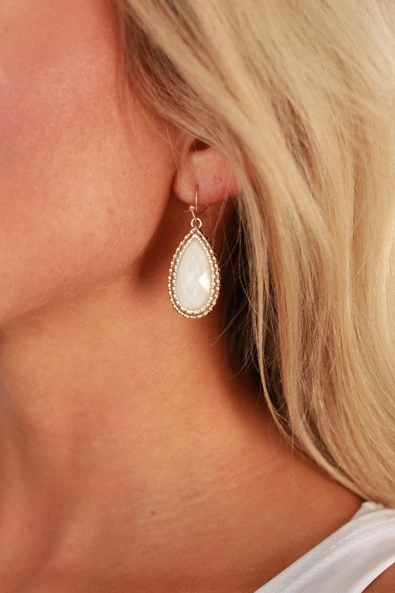 Better Together Earrings in White