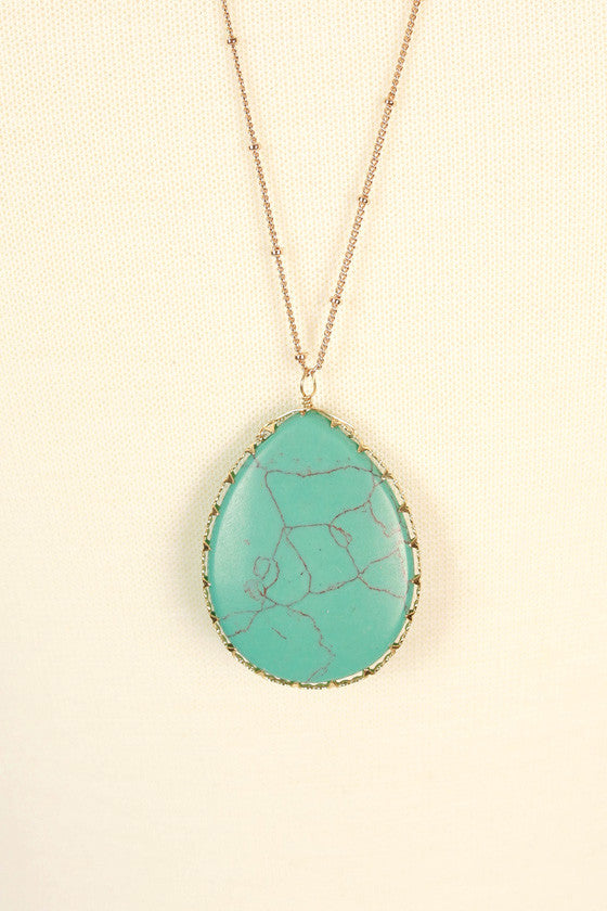 Brighter Days Stone Necklace