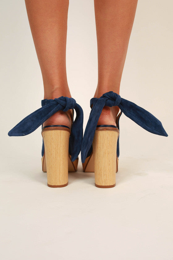 Rissa Cut Out Tie Ankle Heel