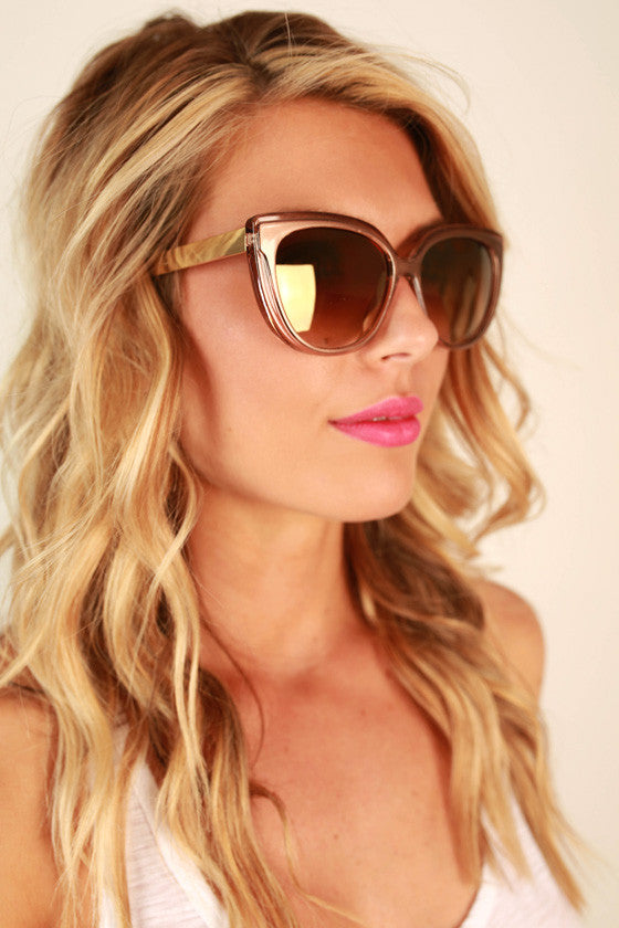 High Temp Sunglasses in Camel