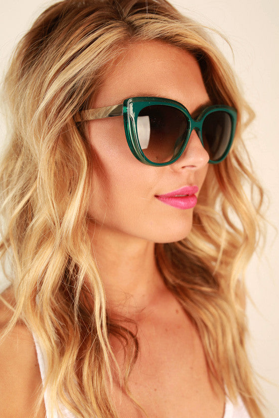 High Temp Sunglasses in Teal