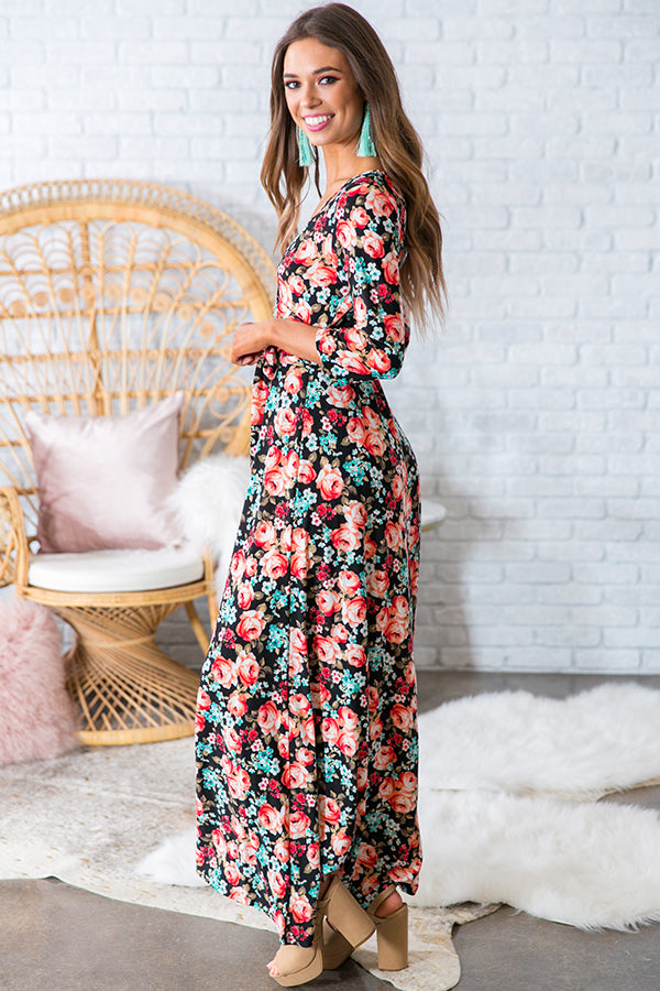The Fields Of Pretty Maxi In Peony Party