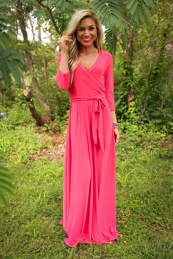 The Fields Of Pretty Maxi In Watermelon Punch
