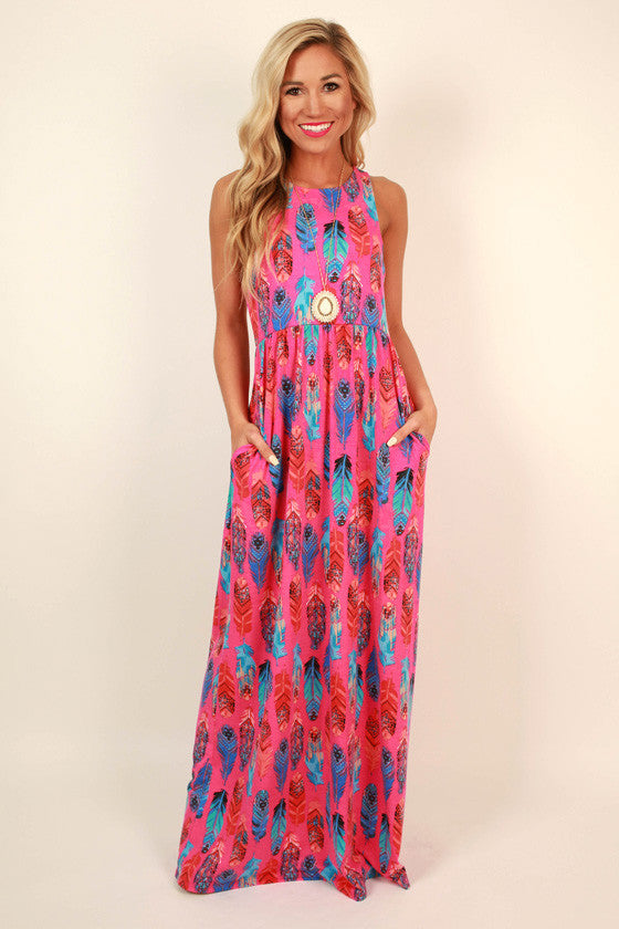 The Scarlett Empire Maxi in Rio Beach Party Punch