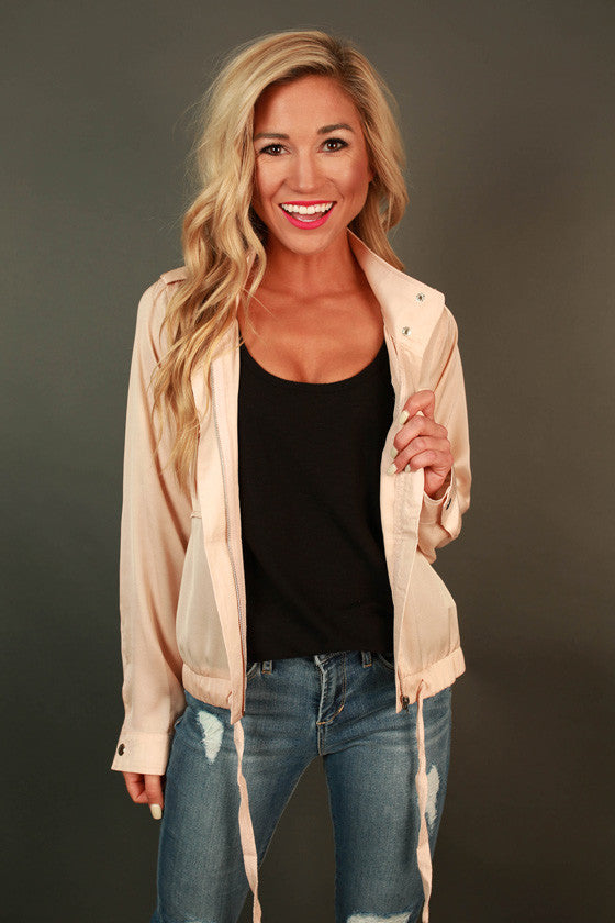Nantucket Night Light Weight Jacket