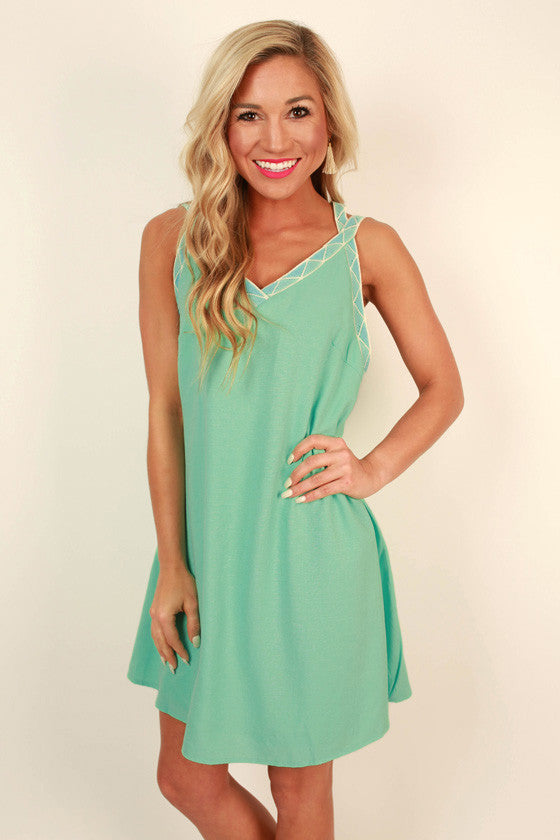 Mykonos Living Shift Dress