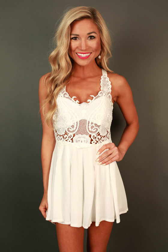 Lace Bombshell Romper