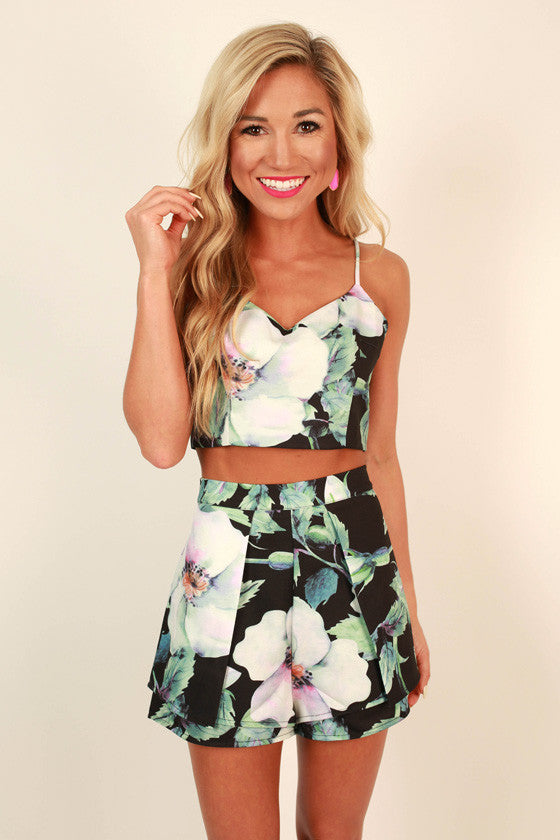 Laguna Beach Floral Set