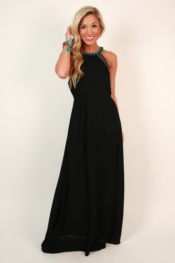 Queen of Style Maxi Dress