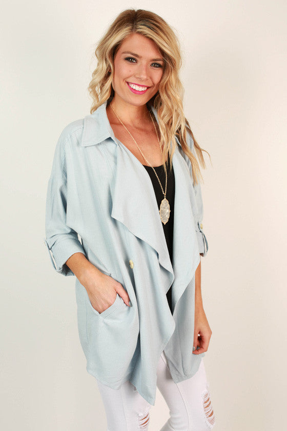 City Livin' Lightweight Trench