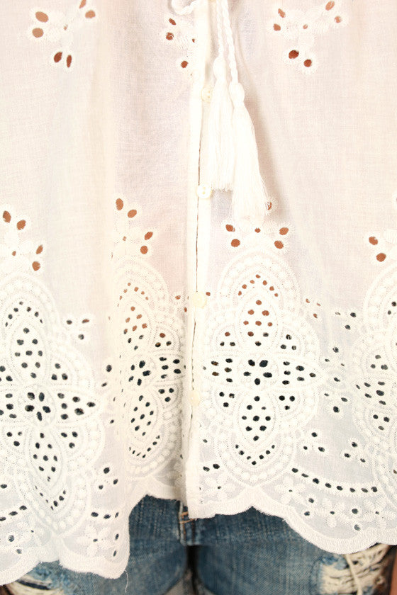 I Have My Eyelet On You Top