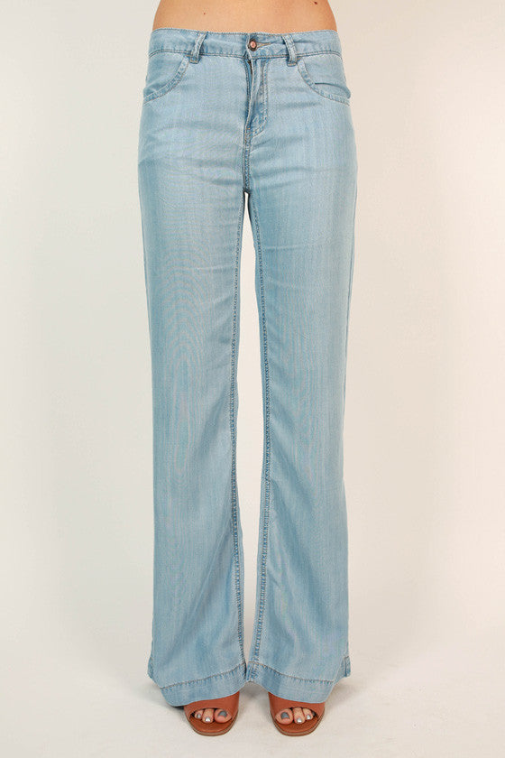 The Hollywood Hills Chambray Pants