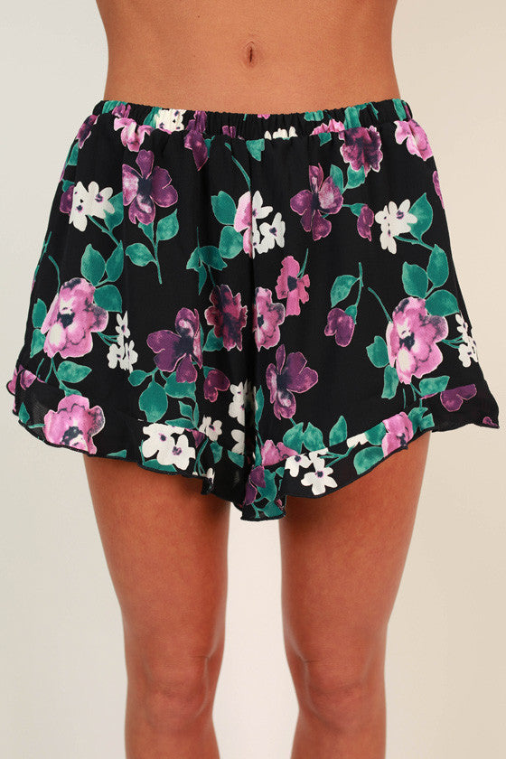 Fun & Games Floral Shorts