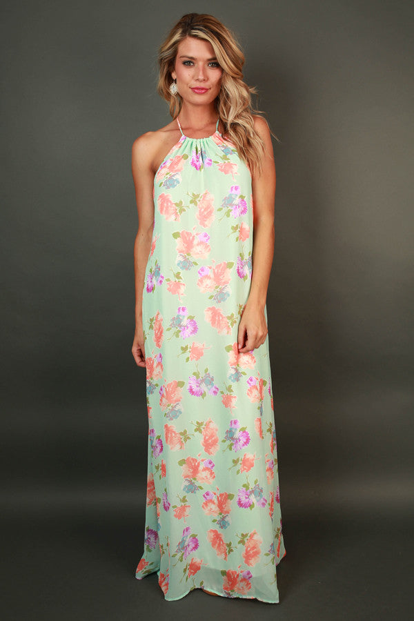 The Palace Gardens Floral Maxi Dress