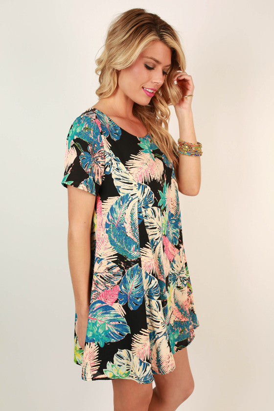 Meet Me in the Tropics Shift Dress