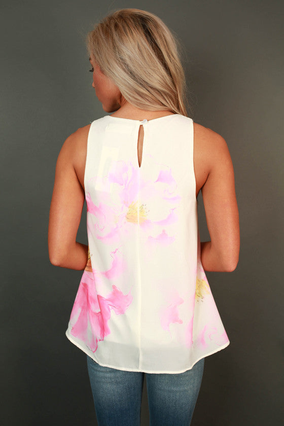 Petal Perfection Floral Top