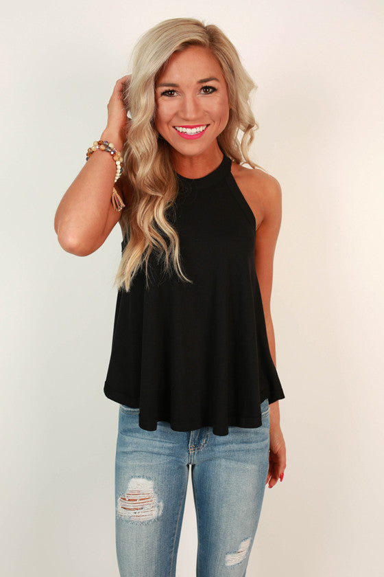 Nantucket Getaway Top in Black