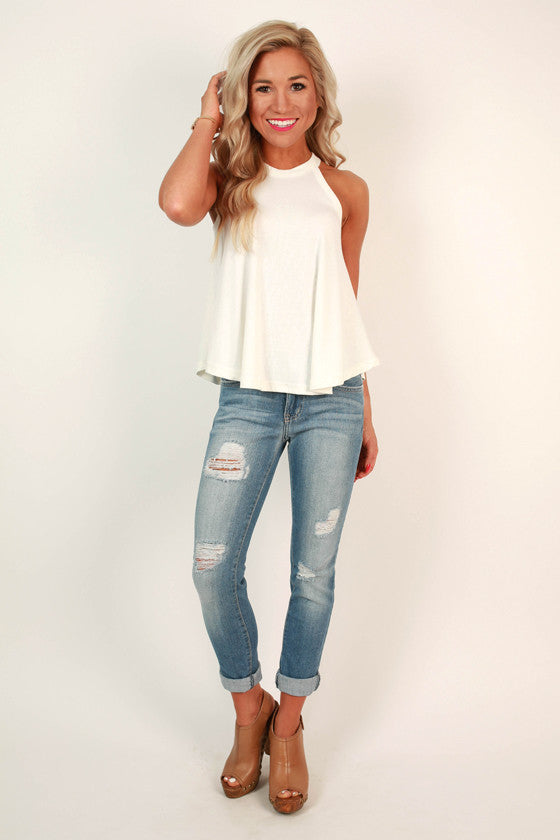Nantucket Getaway Top in White