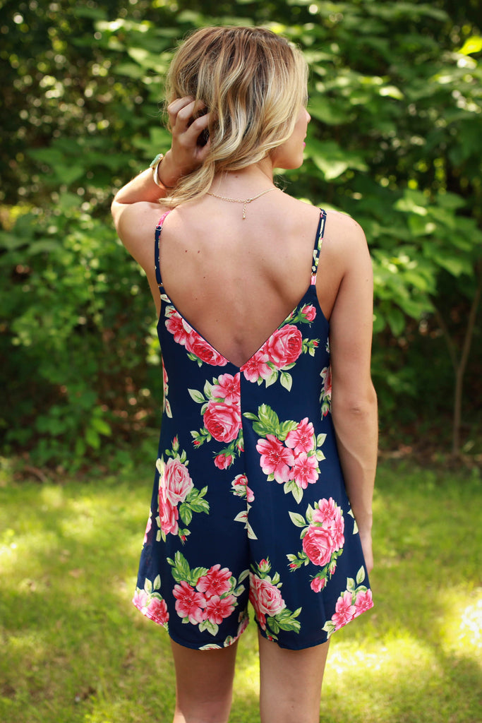 Paint The Roses Red Romper